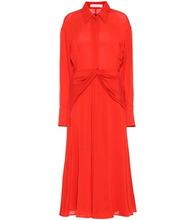 Victoria Beckham | Silk shirt dress | Clouty