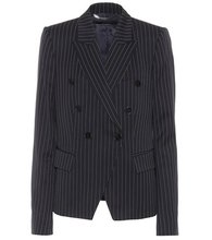 Stella McCartney | Wellesley pinstriped wool blazer | Clouty