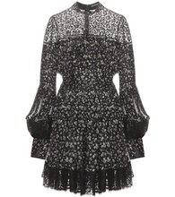 Alexander McQueen | Printed silk dress | Clouty