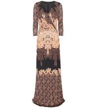 Etro | Printed silk jersey dress | Clouty