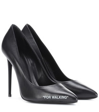 Off-White | For Walking leather pumps | Clouty