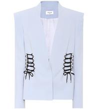 Mugler | Embellished crepe blazer | Clouty