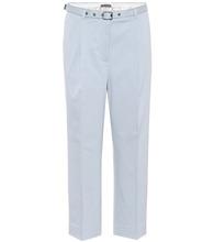 Bottega Veneta | Stretch-cotton cropped trousers | Clouty