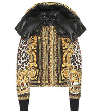 Versace | Reversible printed down jacket | Clouty