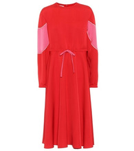 VALENTINO | Silk-blend dress | Clouty