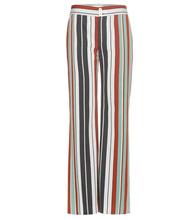 Chloé | Striped cotton-blend twill wide-leg trousers | Clouty