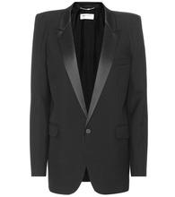SAINT LAURENT | Wool tuxedo jacket | Clouty