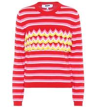 MSGM | Striped cotton sweater | Clouty