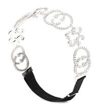 GUCCI | Crystal-embellished headband | Clouty