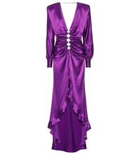 Alessandra Rich | Embellished silk gown | Clouty