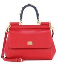 Dolce & Gabbana | Sicily Small leather shoulder bag | Clouty