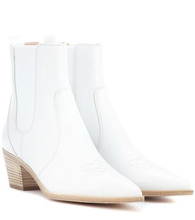 Gianvito Rossi   Austin leather Chelsea boots   Clouty