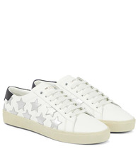 SAINT LAURENT | SL/06 Court Classic leather sneakers | Clouty
