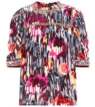 Ulla Johnson | Jive embellished silk-blend top | Clouty