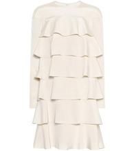 VALENTINO | Tiered silk dress | Clouty