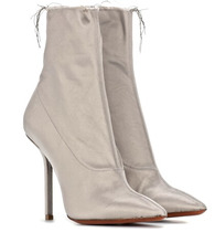 VETEMENTS | Satin ankle boots | Clouty