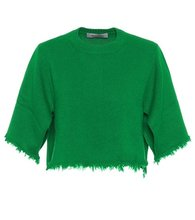 VALENTINO | Cropped cashmere sweater | Clouty