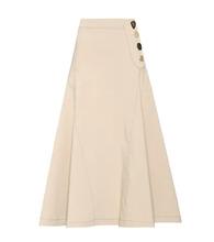 Rejina Pyo | Cotton-blend A-line skirt | Clouty