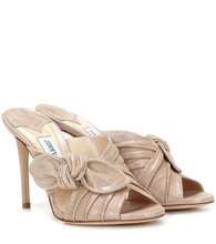 Jimmy Choo | Keely 100 suede sandals | Clouty
