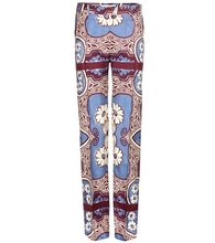 VALENTINO | Printed silk trousers | Clouty