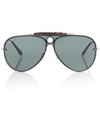 Ray Ban | Blaze Runner aviator sunglasses | Clouty