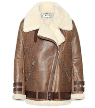 Acne Studios   Velocite shearling jacket   Clouty