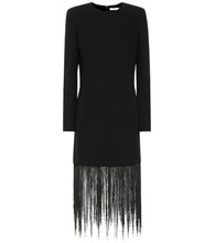 GIVENCHY | Fringed wool minidress | Clouty