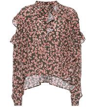 Isabel Marant | Sibel printed silk top | Clouty