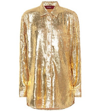 Sies Marjan | Metallic shirt | Clouty