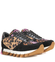 Dolce & Gabbana | Fabric and suede sneakers | Clouty