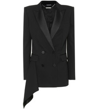 Alexander McQueen | Wool and silk blend blazer | Clouty