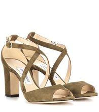 Jimmy Choo | Carrie 85 suede sandals | Clouty