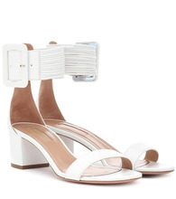Aquazzura | Casablanca 50 leather sandals | Clouty
