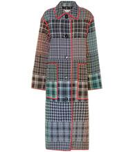 Marni | Checked coat | Clouty