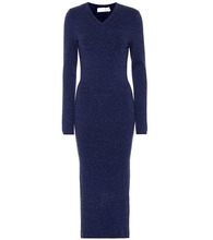 Victoria Beckham | Wool-blend midi dress | Clouty
