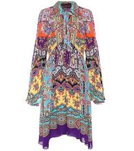 Etro | Printed silk dress | Clouty