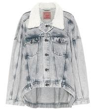 Y/Project   Jean jacket with faux fur   Clouty