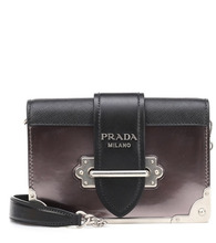 PRADA | Cahier leather shoulder bag | Clouty
