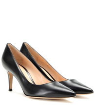 Gianvito Rossi | Gianvito 70 leather pumps | Clouty