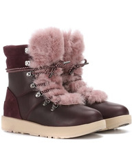 UGG Australia | Viki wool-lined leather ankle boots | Clouty