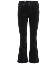 AG Jeans   The Jodi Crop velveteen jeans   Clouty