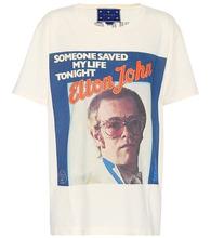 GUCCI | X Elton John printed T-shirt | Clouty