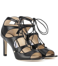 Jimmy Choo | Blake 85 leather sandals | Clouty