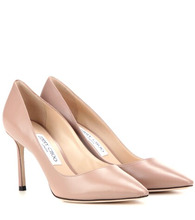 Jimmy Choo | Romy 85 leather pumps | Clouty
