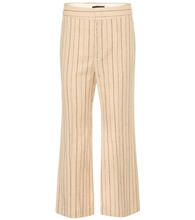 Isabel Marant | Keroan linen and wool trousers | Clouty