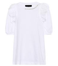 SIMONE ROCHA   Embellished cotton T-shirt   Clouty