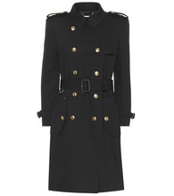 GIVENCHY | Wool double-breasted coat | Clouty