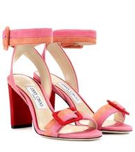 Jimmy Choo | Dacha 85 suede sandals | Clouty