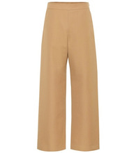 Marni | High-rise wide-leg wool pants | Clouty
