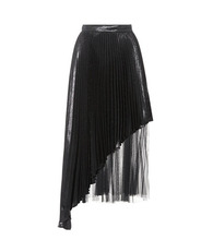 CHRISTOPHER KANE | Silk-blend pleated skirt | Clouty